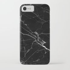 Black Marble iPhone 7 Slim Case
