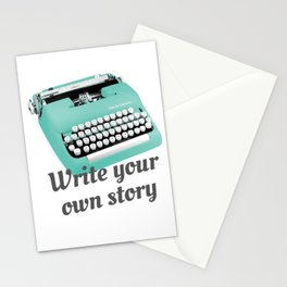 Write your own story Stationery Cards