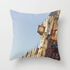 The time will arrive Throw Pillow