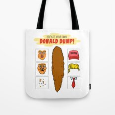 DIY Donald Dump Tote Bag