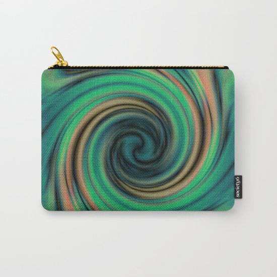 Green Maelstrom Carry-All Pouch