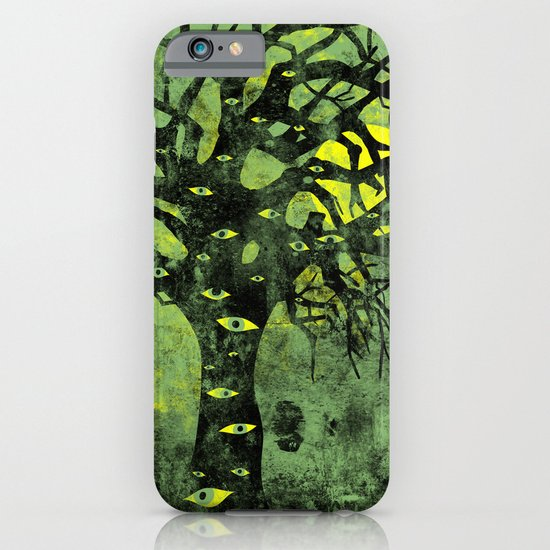 the Vision Tree (green) iPhone & iPod Case