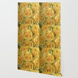 Parisian Rose Garden Yellow Number 2 Wallpaper