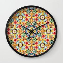 Nouveau Chinoiserie Wall Clock