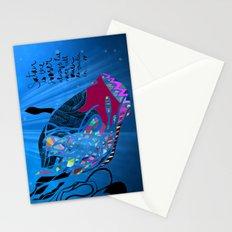 John 8/44+TheFish Nonrandom-art2 Stationery Cards