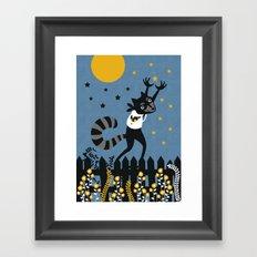 Star Thief Framed Art Print