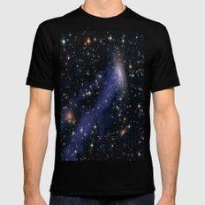 Galaxy ESO 137 Mens Fitted Tee MEDIUM Black