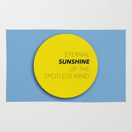 Eternal Sunshine of the Spotless Mind Rug