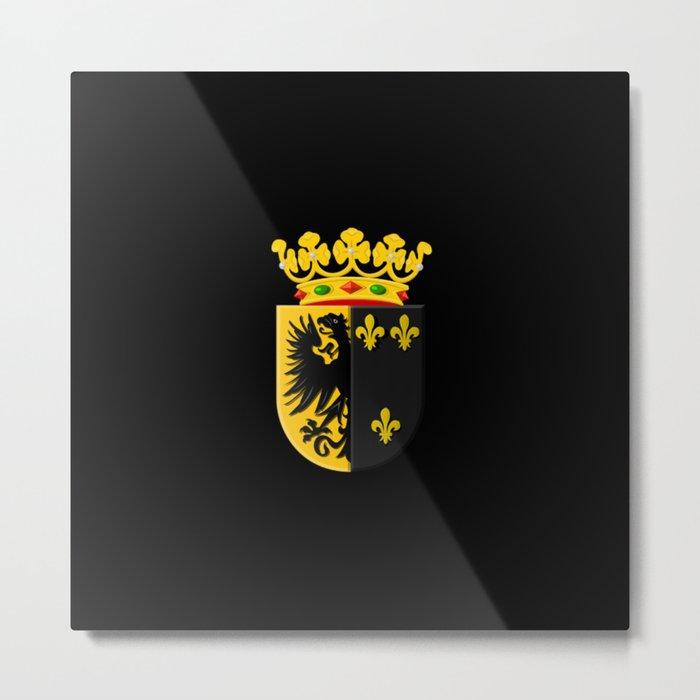 Coat of arms of Workum Metal Print