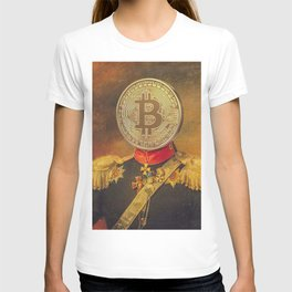"Bit Coin Fanatic General | ""So Let Me Tell You About My Coin Base"" T-shirt"
