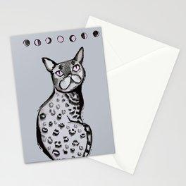 Lunar Neko Stationery Cards