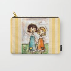 A Childhood Shared - Sister Art Carry-All Pouch