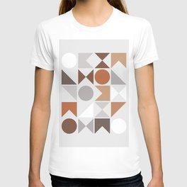 Mid Century Modern Geometric 16 T-shirt