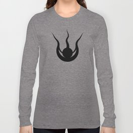 Weaver Symbol-Black Long Sleeve T-shirt