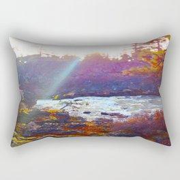 Benham Falls Rectangular Pillow