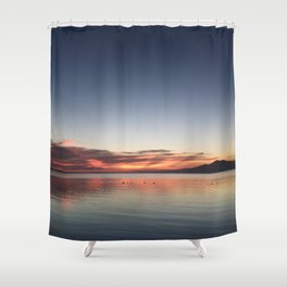End of Day 1 Shower Curtain