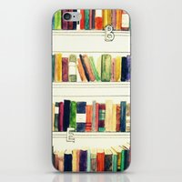 books iPhone & iPod Skins featuring Books by Ela Caglar