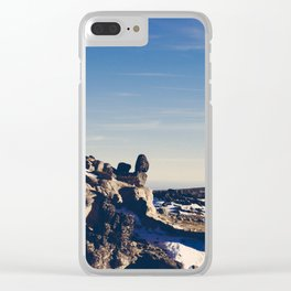 Serra 1 Clear iPhone Case
