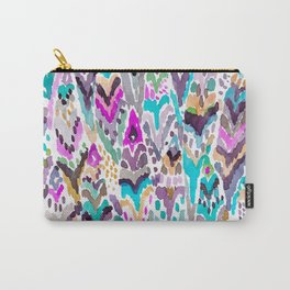 Abstract Colorful Feathers Carry-All Pouch