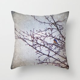 over yonder Throw Pillow