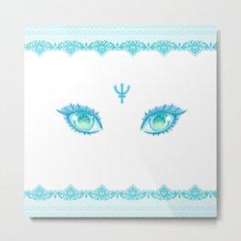 Sailor Neptune Eyes Metal Print
