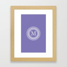 The Circle of  M Framed Art Print