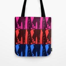 Alien Surf Fiend Tote Bag