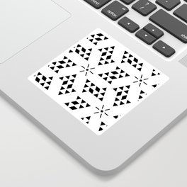 Triangle slide Pattern Sticker