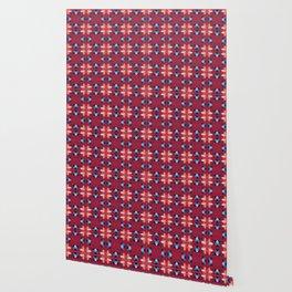 Abstract flower pattern 5h Wallpaper
