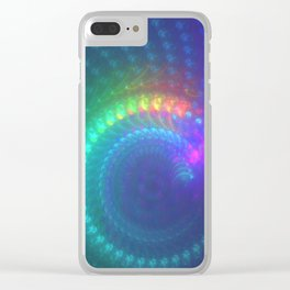 CD Burner Clear iPhone Case