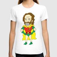 robin williams T-shirts featuring Robin as Robin by Chris Piascik