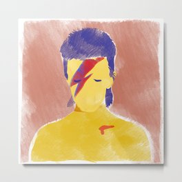 David Bowie III Metal Print