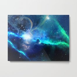 Intestellar Metal Print
