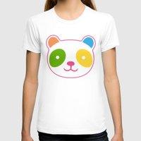 murakami T-shirts featuring Rainbow Panda by XOOXOO