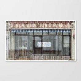 Dead Shop 08 Canvas Print