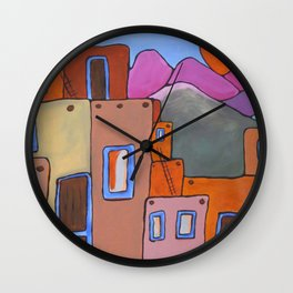 Adobe Sunrise Wall Clock