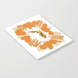 Florida Orange Blossom Wreath Notebook