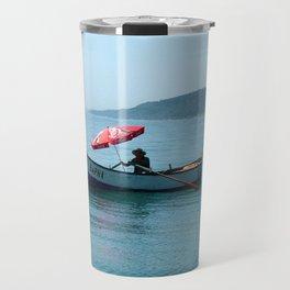 One Man and His Boat Travel Mug
