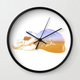 Lazy Lady Wall Clock