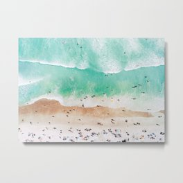 Beach Mood Metal Print