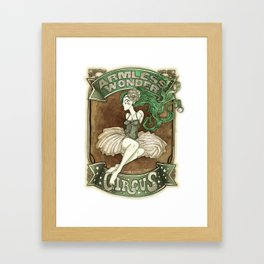 Armless Wonder Framed Art Print