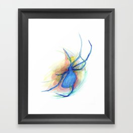 as she counted the spiders Framed Art Print