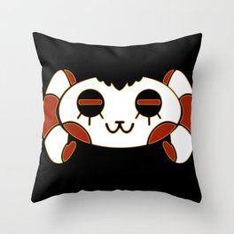 Sheepy Skull Throw Pillow