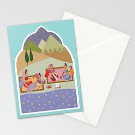 Women by the Lake Stationery Cards