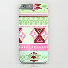 Neon Aztec Slim Case iPhone 6s