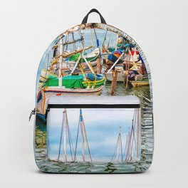 Colors of Belize Backpack