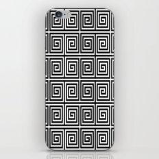 Acropolis 1 Black iPhone & iPod Skin