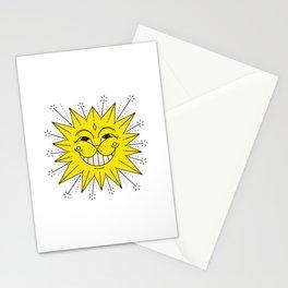 Sun Cat Stationery Cards