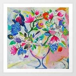 My Island Bloom Art Print