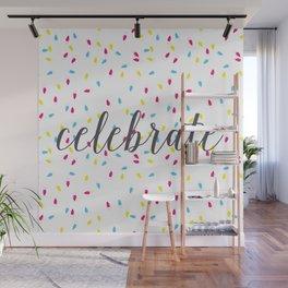 Celebration Lights Wall Mural